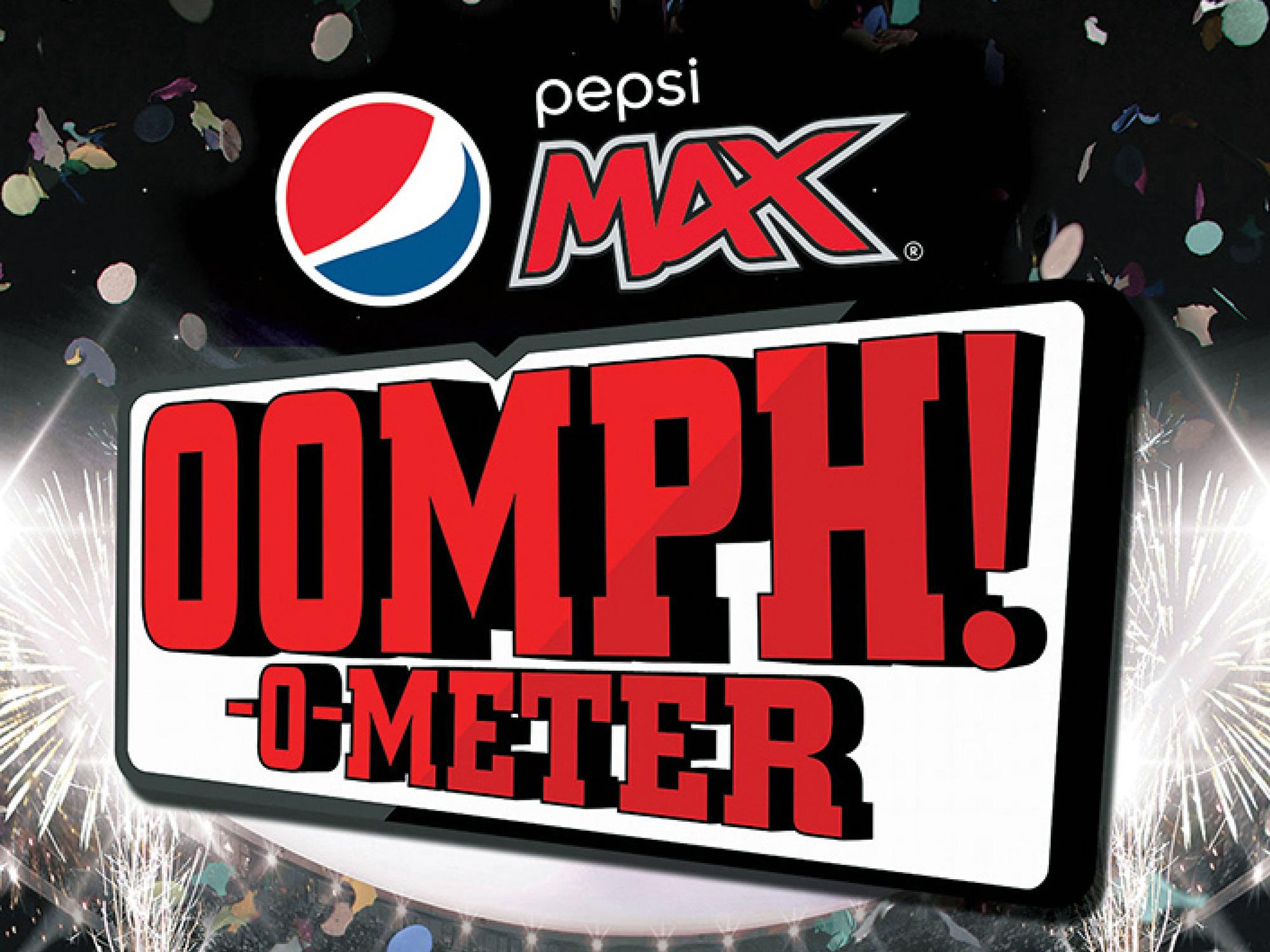 Pepsi Max Oomph O Meter