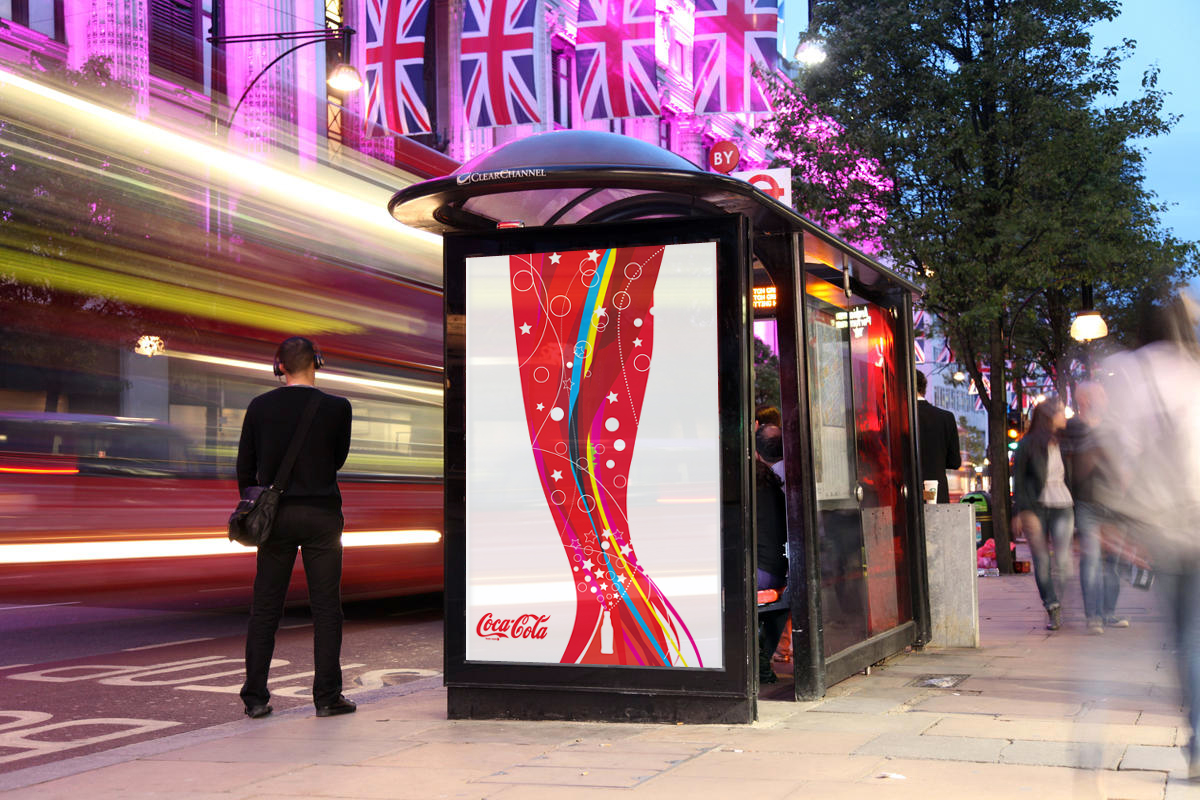 Coca-Cola brand outdoor