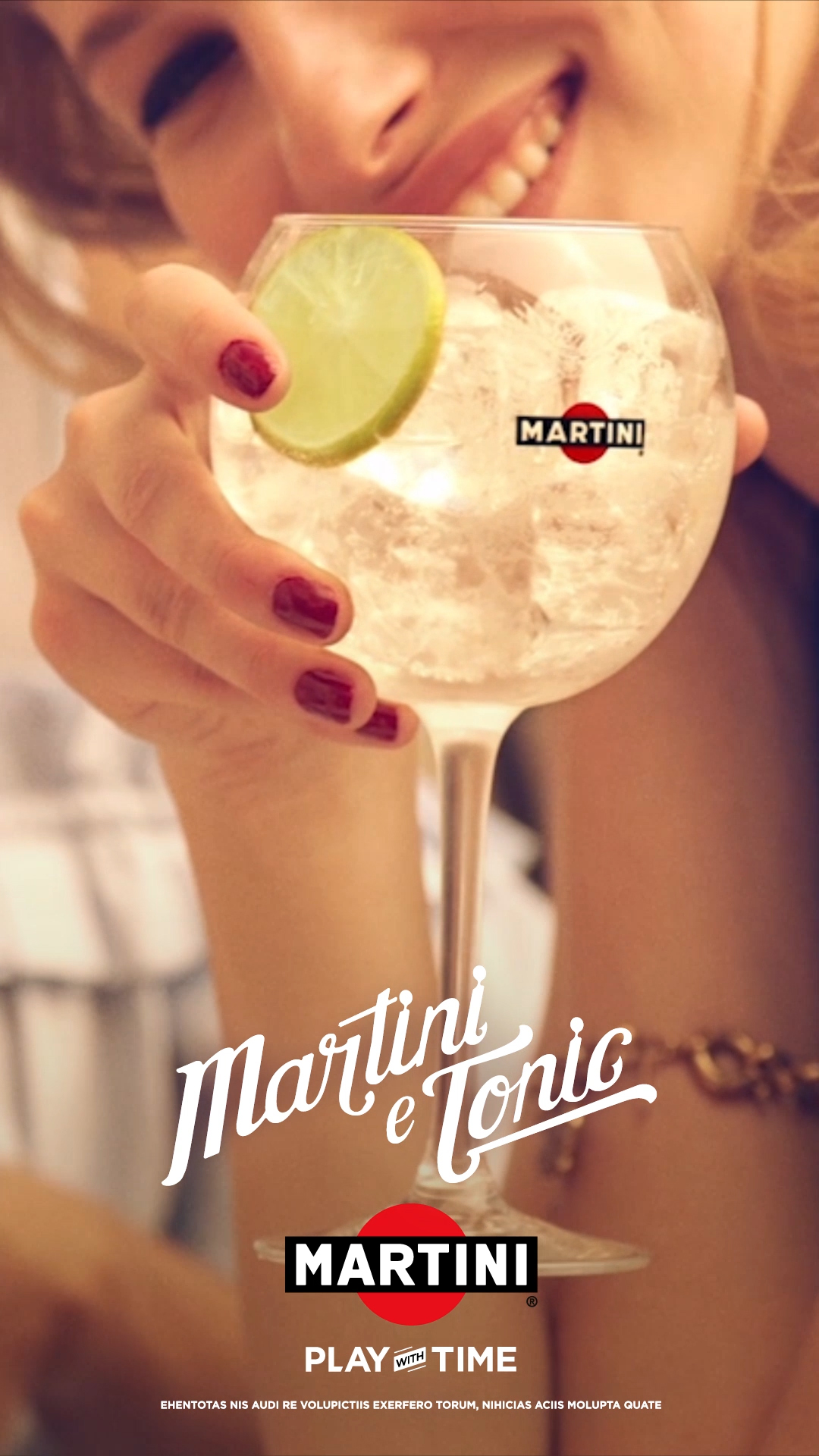 Martini Serve Bianco