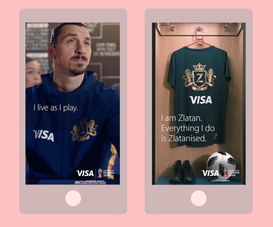 Visa Zlatan mobile 2